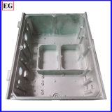 Il coperchio di alluminio su ordinazione le parti della pressofusione