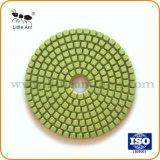 2018 China 4 Duim Stootkussen van de Hars van de Diamant van 100 mm het Natte Droge Flexibele Oppoetsende voor Beton van de Steen van het Graniet het Marmeren