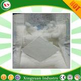 Pleine Pâte en flocons non traitées pour les matières premières couches