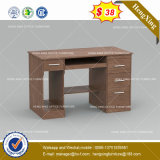 Bureau conventionnel de PC de Tableau de bureau de coin de couleur foncée (HX-8NE039)
