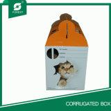 Portable personnalisé Papier ondulé chambre Boîte d'emballage PET