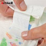 Tecido sonolento descartável absorvente brandamente bom do bebê da alta qualidade 100%