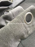 Color gris de alta calidad cortina blackout