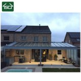 Fashion Designed Customized Outdoor Deck Steel and Polycarbonate Pergola