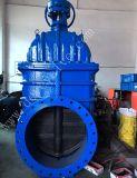 Grosser Größe LÄRM Pn16 duktiler Eisen-Absperrschieber mit Elektromotor für Trinkwasser