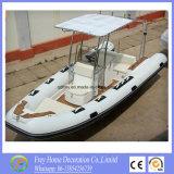 Alta qualità 5, crogiolo di vetroresina di 8m/yacht gonfiabili del Ce 9person