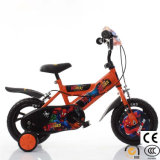 Naranja directamente de fábrica de las 4 ruedas bicicleta para los niños viajen en