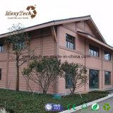 Revestimiento compuesto plástico de madera de pared exterior del revestimiento al aire libre del panel WPC