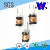 Фикчированный освинцованный радиальный индуктор дроссельной катушки для PCB (LGB)