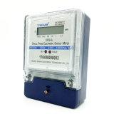 Tipo de dos hilos del LCD del contador del vatio-hora la monofásico de Dds-6L