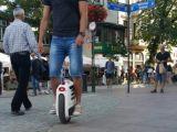 """roda 2017 1600W um que dobra o """"trotinette"""" elétrico para adultos"""