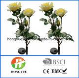 정원 훈장을%s 새로운 디자인 정원 태양 꽃 램프 태양 백합 꽃 빛 태양 램프