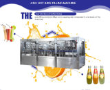 Automatische 3 in 1 Saft-Flaschen-Füllmaschine