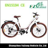 조절을%s 가진 최신 판매 여성 리튬 전기 자전거 36V 250W