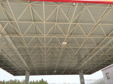 Tankstelle-Stahlkonstruktion-Dach