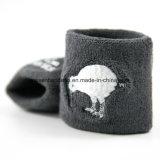 공장 OEM 생성은 자카드 직물 면 아크릴 농구 스포츠 손목 모자 안쪽 땀받이를 주문 설계한다