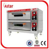Precio doble barato del horno de la cubierta del horno comercial de la cocina
