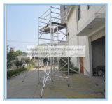 安全なセリウムは維持のためのアルミニウム足場タワーを渡した