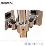 Vierradantriebwagen LCD-Halter-Monitor-Aufzug-Standplatz-Rüstungskontrolle-Raum-Konsole verwendete LCD-Bildschirm-Monitor-Standplatz (OZ-OMM057)