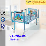 Thr-CB002 de l'hôpital en acier inoxydable Cartoon Childern lit
