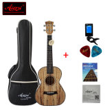 26 Inch에 있는 Aiersi Spalted Maple Tenor Ukulele