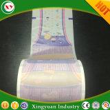 Pañal las materias primas de suave transpirable de película para la hoja posterior
