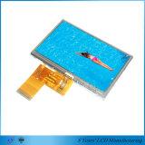 """4.3 """" 480*272 350nits au module large procurable de TFT LCD de l'angle de visualisation 700nits"""