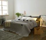 100% algodão Quilted Cinza de retalhos de estilo americano para Beddings