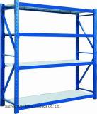Uso médio da prateleira da cremalheira do armazenamento no armazém (DL-MR)