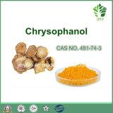 Хризофановая кислота выдержки ревеня эмодина Chrysophanol 98%