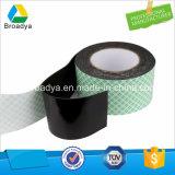 De zwarte Band van het Schuim van het Polyethyleen met de AcrylKleefstof van Hoge Prestaties (BY1010)