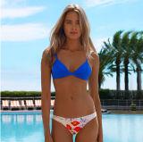 La sucrerie mélangée de bikini d'allumette de qualité colore les vêtements de bain sexy de soutien-gorge