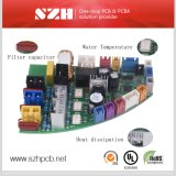 2 de capa rígida fabricante de electrónica de bidé PCBA