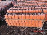 Bloco de cerca temporária de plástico para proteção temporária
