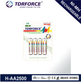 Bateria longa da vida de serviço do hidruro recarregável do metal niquelar com Ce para a venda (AA/HR6)