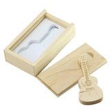 Vara Guitar+Box de madeira do USB