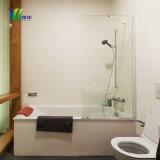 Vetro della stanza da bagno di sicurezza della radura della fabbrica 8mm di Weihua