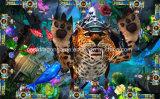 Машина видеоигры рыболовства машины игры рыб забастовки леопарда машины игры шлица