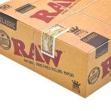 Сырцовый тонкий естественный Unrefined король Размер буклетов 110mm бумаги завальцовки 50 курить сигареты