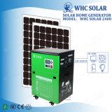 Type libre de maintenance système 2400wh solaire Integrated pour la maison