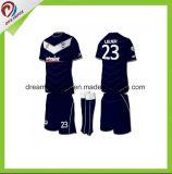 O Sublimation feito sob encomenda do Sportswear vende por atacado o futebol Jersey para homens