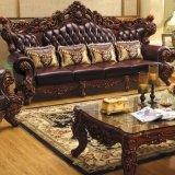 خشبيّ جلد أريكة لأنّ يعيش غرفة أثاث لازم (531)