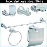 Acier inoxydable de type rond 304 accessoires de salle de bains
