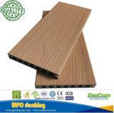 WPC führte antiseptisches Holz-Laminat Bodenbelag mit einer Kappe bedeckten zusammengesetzten Decking mit Cer-Bescheinigungen aus