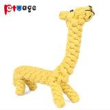 장난감 곰 면 밧줄을 씹어 개는 애완 동물 장난감을