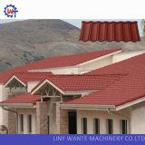 Прочный камень поверхности песка цвета откалывает Coated плитки крыши металла