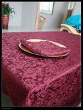 Da flor da cópia do Tablecloth do algodão do casamento da HOME da decoração do retângulo de tabela da tampa pano 100% de tabela Multifunctional