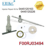 Erikc Injetor Reparatur-Installationssatz des Reparatur-Installationssatz-F00rj03494 der Düsen-Dlla150p1828 des Ventil-F00rj01692 für 0445120163 0445120226