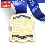 Персонализированное медаль спорта Шотландии изготовленный на заказ металла UK с тесемкой
