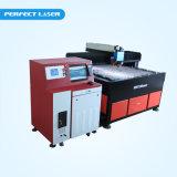 Machine de découpage en aluminium de laser de tôle de fer d'acier inoxydable avec du ce
